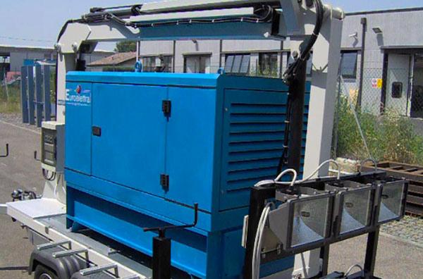 Illuminazione Per Macchine Utensili : Torre di illuminazione telescopica sunlight emiltech s r l